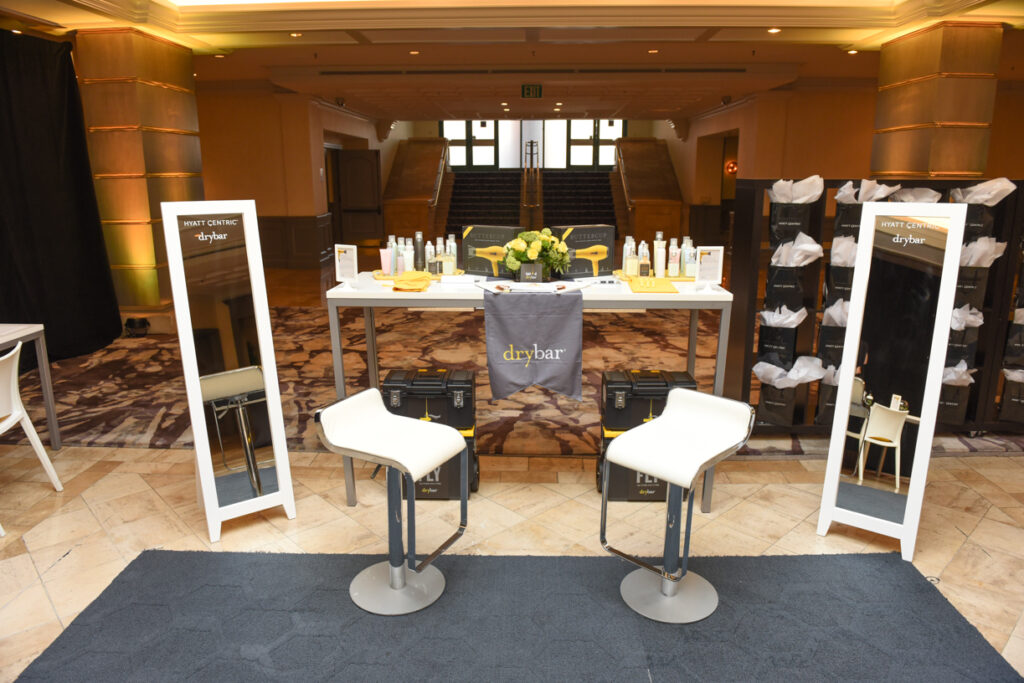 Hyatt Centric Media Event - Drybar Station