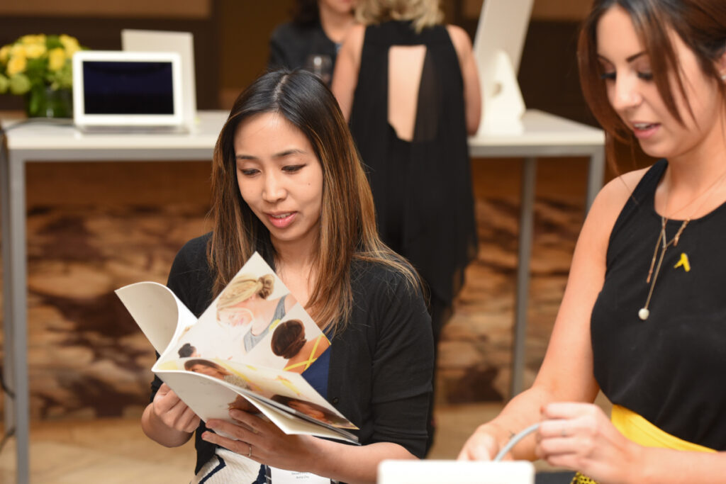Hyatt Centric Media Event - DryBar Choosing Style