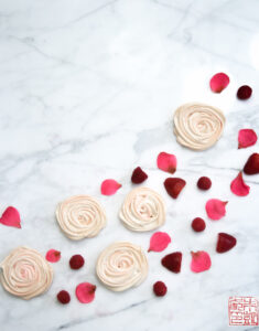 Rose Meringues for a Simple Spring Dessert