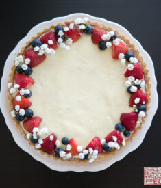 Berry Cheesecake Tart