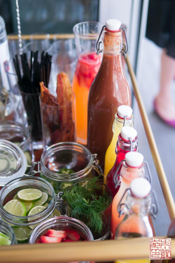 Verge Bloody Mary Cart