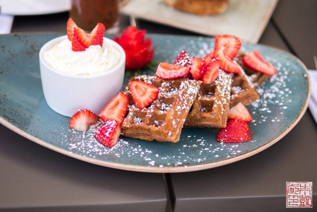Verge Gingerbread Waffles