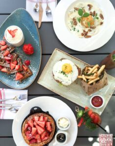{South Bay} Brunch at Verge Restaurant in Los Gatos