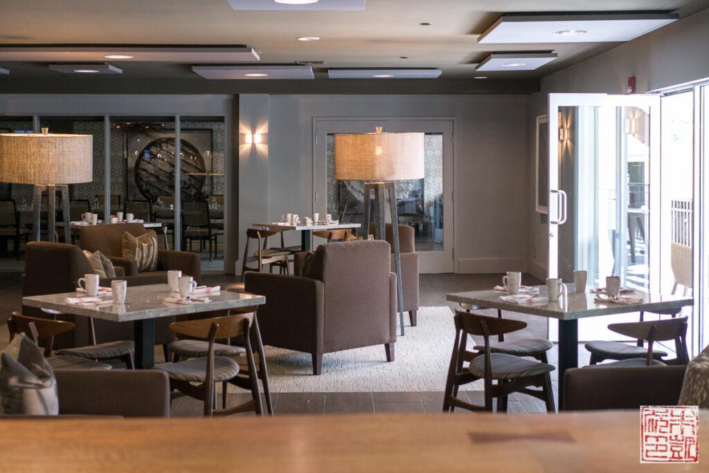 Verge Restaurant Interior