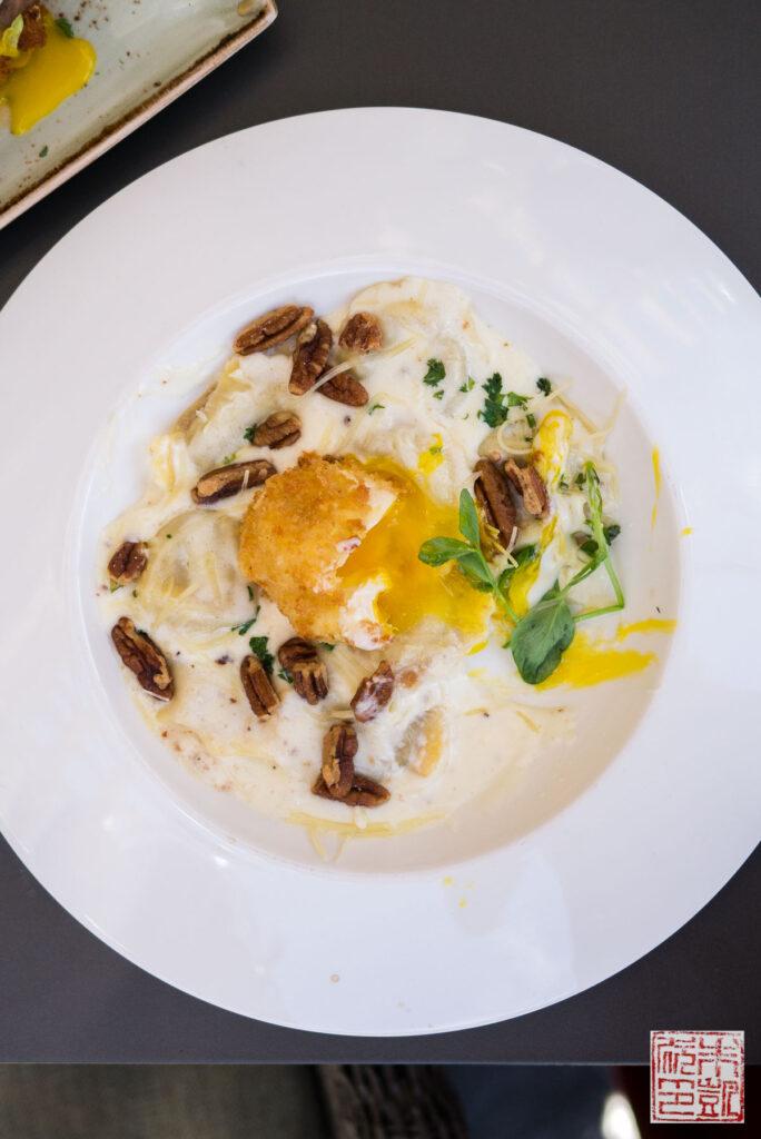 Verge Sausage Ravioli Egg