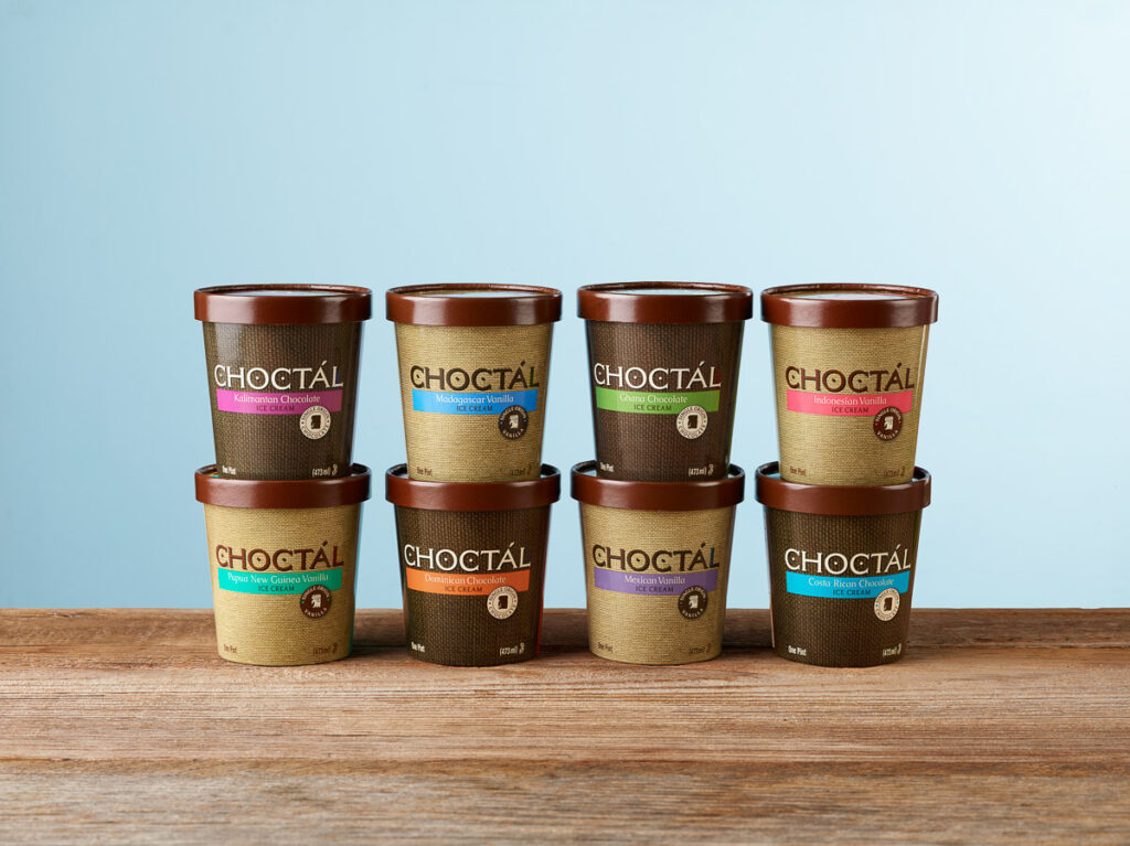 Choctal Ice Cream Eight Flavors