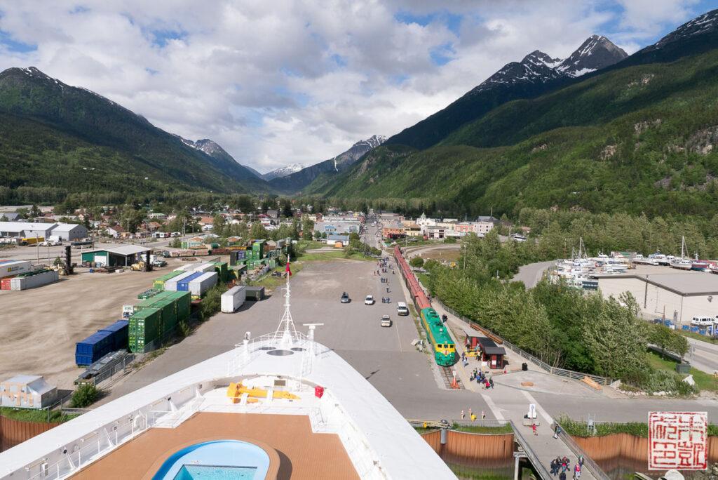 Disney Wonder Alaska Cruise Skagway Town
