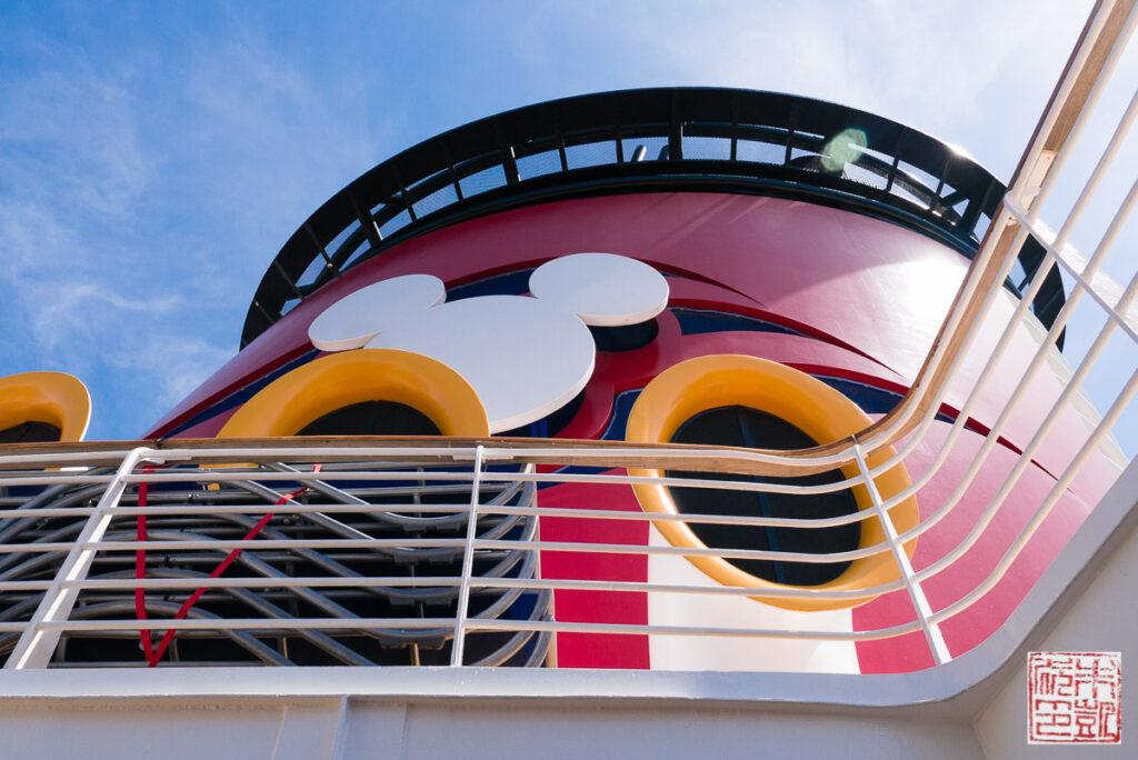 Disney Wonder Alaska Cruise Smokestack