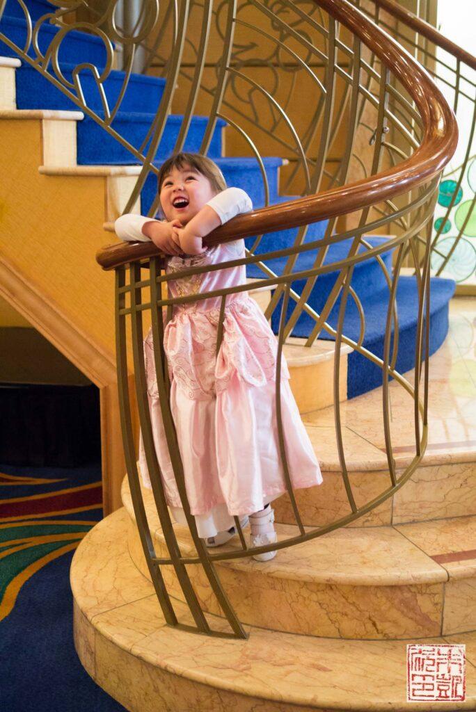 Disney Wonder Atrium Joy