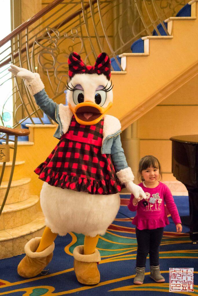 Disney Wonder Daisy Duck