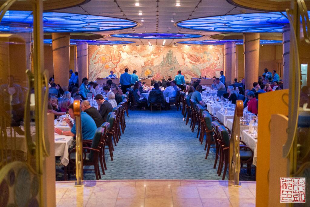 Disney Wonder Triton Restaurant