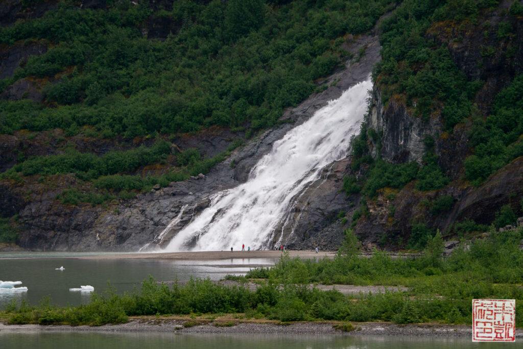 Juneau Mendenhall Glacier Nugget Falls
