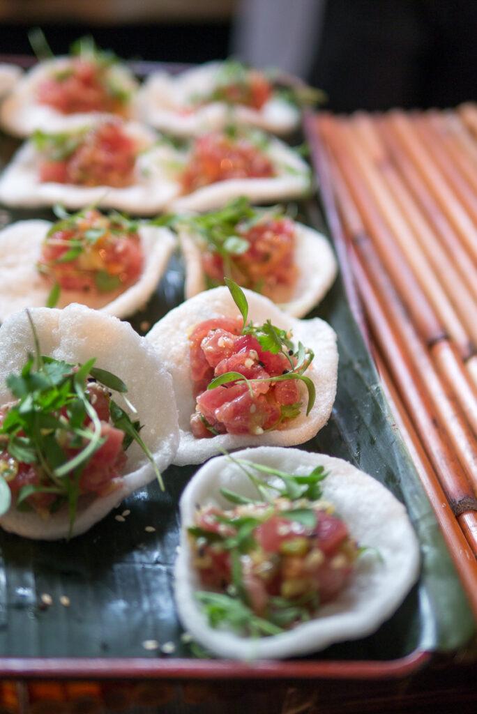 le colonial tuna tartar