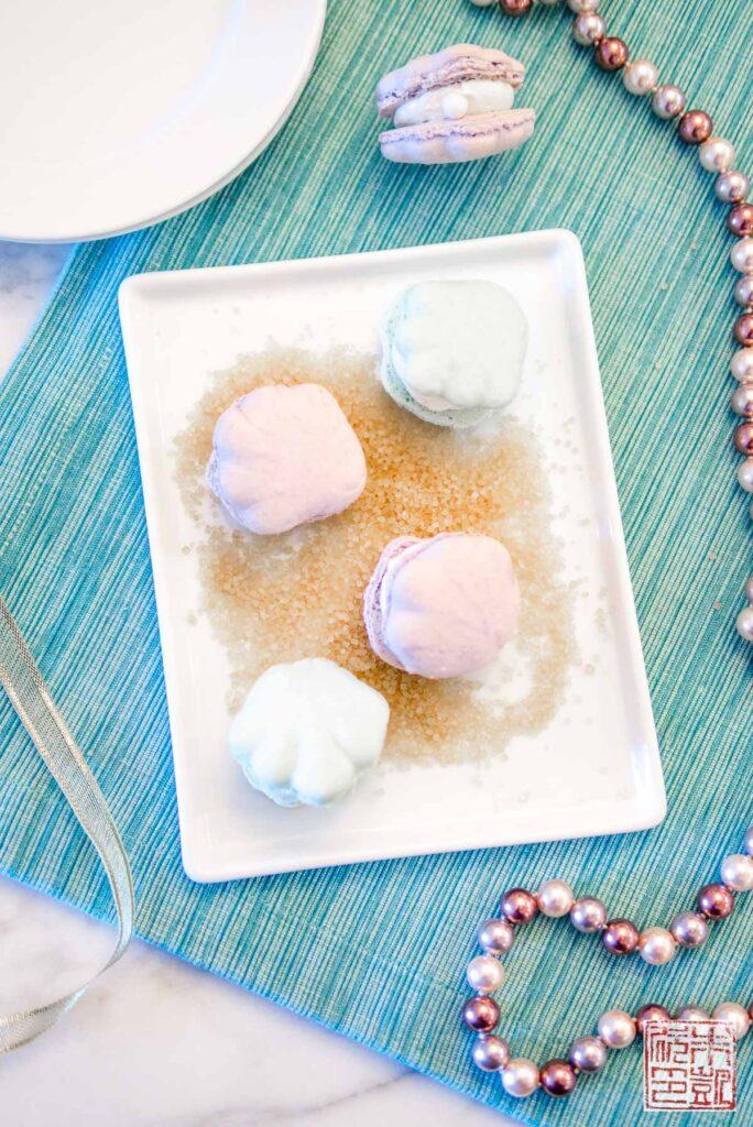 Seashell Macarons