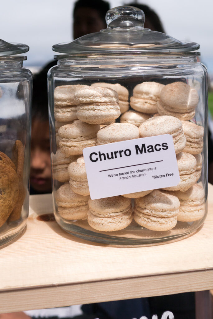 We The Minis Churro Macarons