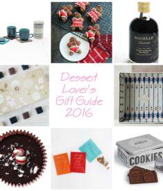 Dessert Lover's Gift Guide 2016