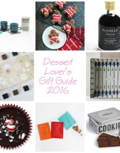 Dessert Lover's Holiday Gift Guide 2016