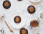 Gingerbread Thumbprint Cookies with Salted Caramel