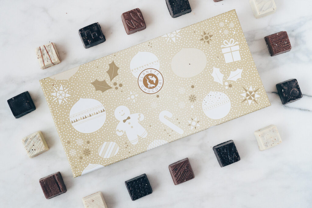 planete-chocolate Christmas box