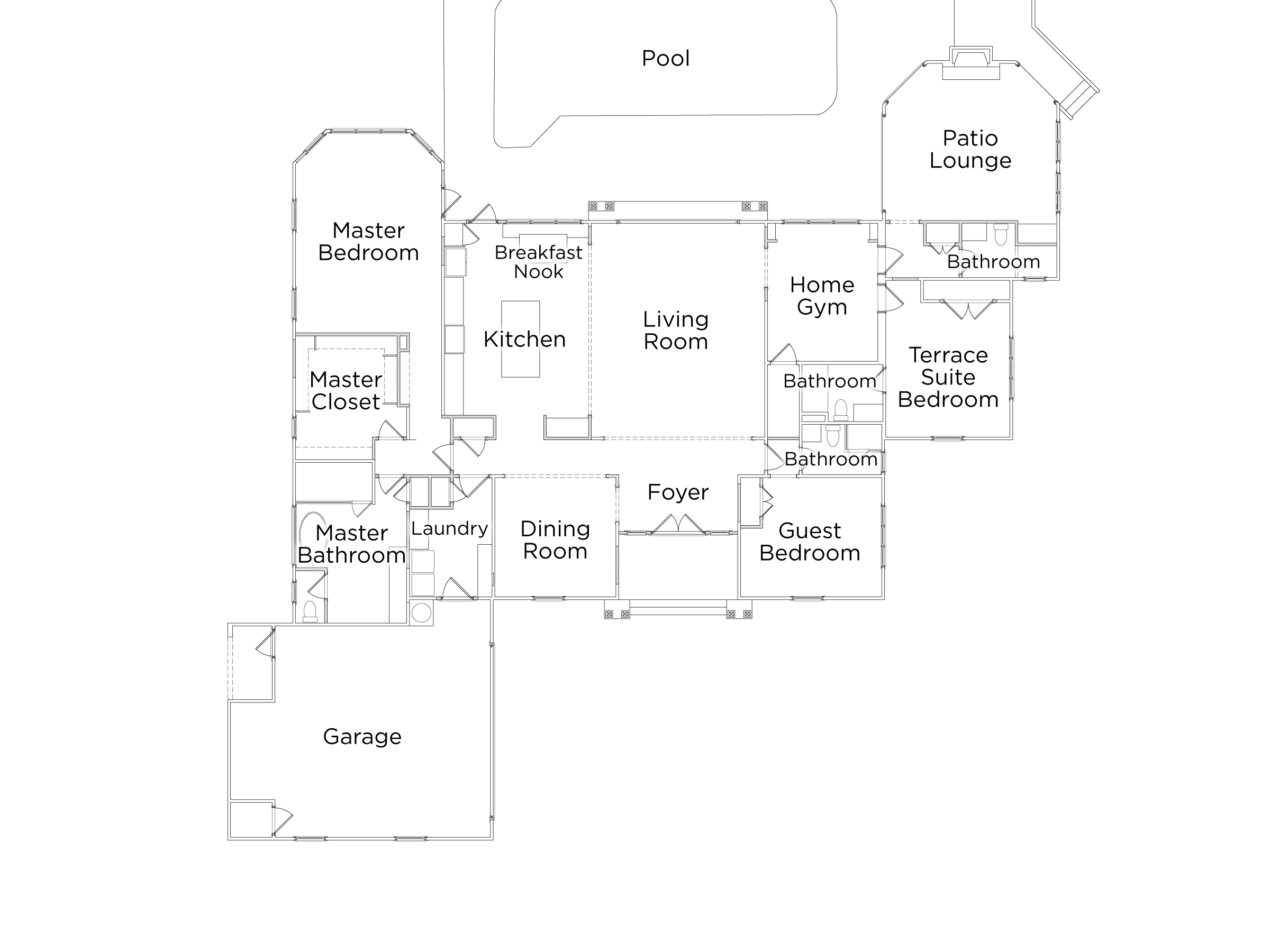 Show virtual tour canal kitchen living room pool - Hgtv Dh17 Floor Plan Photo Gallery_h