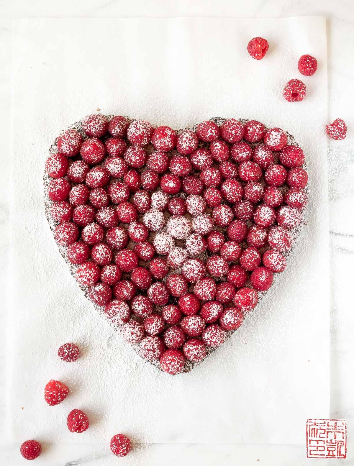raspberry-heart-brownie