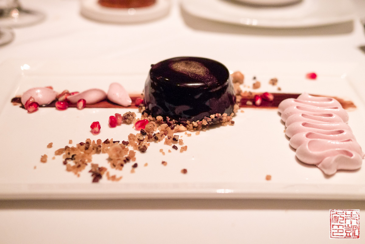 chocolate-mousse-with-pomegranate