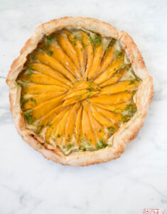 Mango and Lime Frangipane Galette