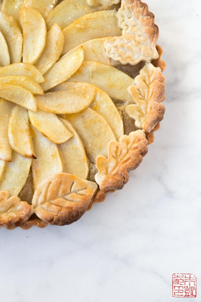 Normandy Apple Tart