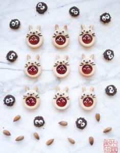 Christmastime is Here: Totoro Linzer Cookies