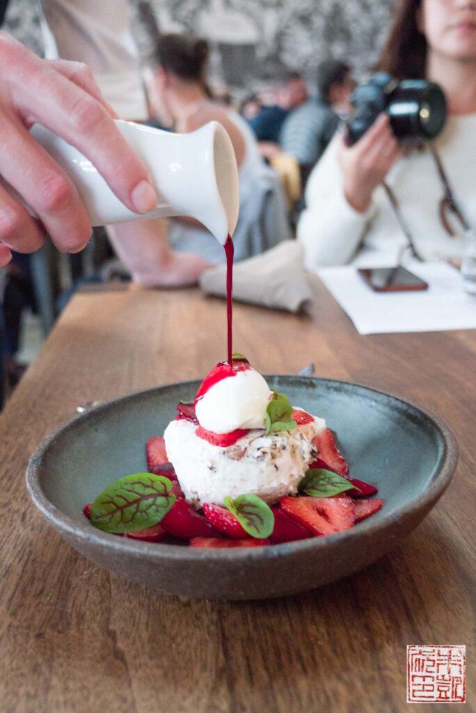 Farm Shop Strawberry Dessert