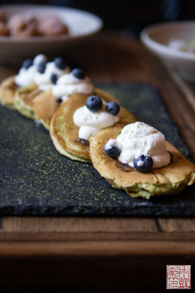 Ozumo Matcha Pancakes