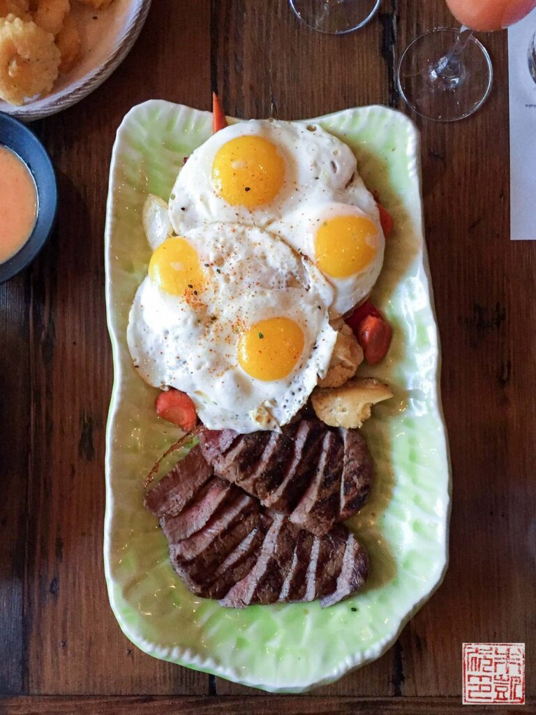 Ozumo Steak and Eggs