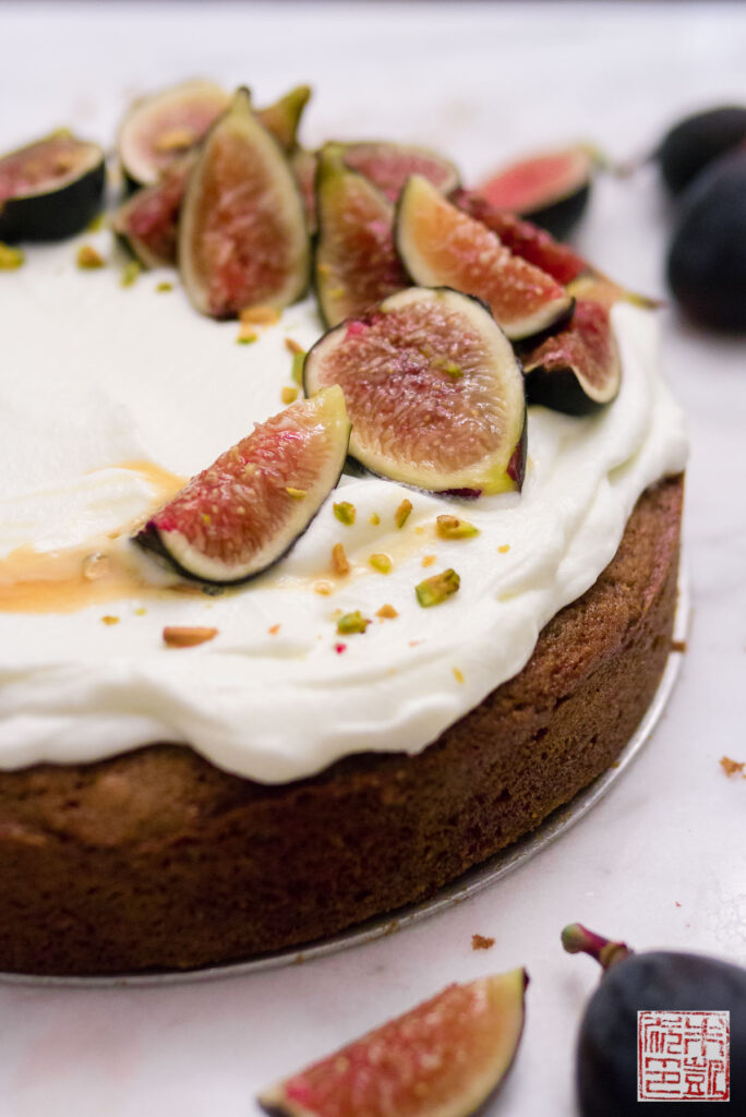 Fig Honey Cake Side