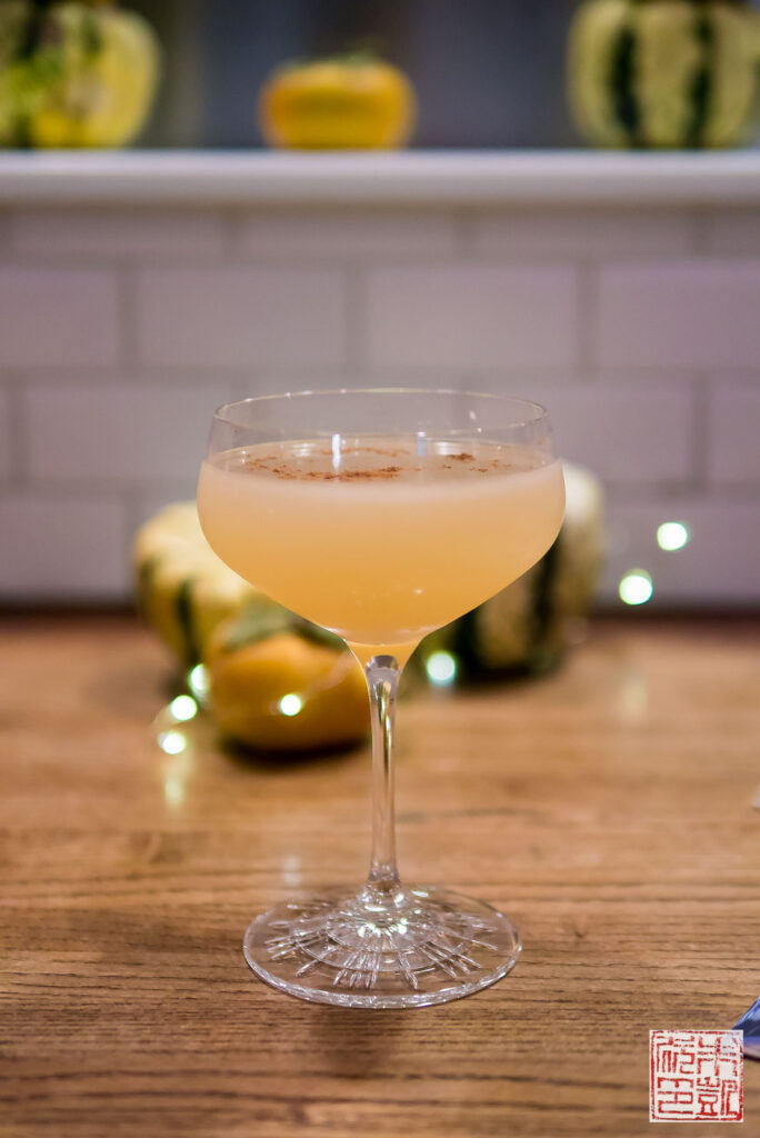 Cassava Sake Rum Cocktail