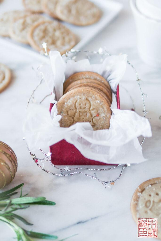 Spiced Christmas Sables Box