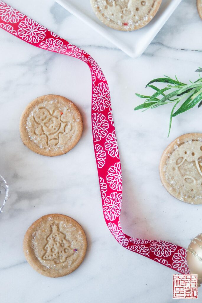 Spiced Christmas Sables Ribbon