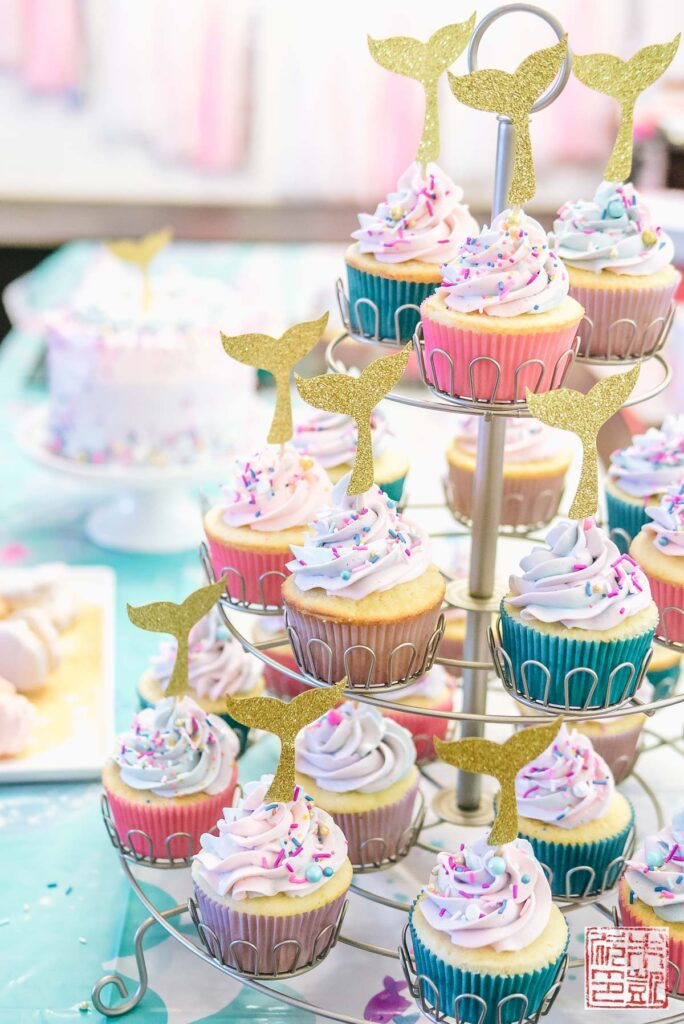 Mermaid Birthday Table