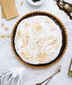 S'mores Whiskey Tart