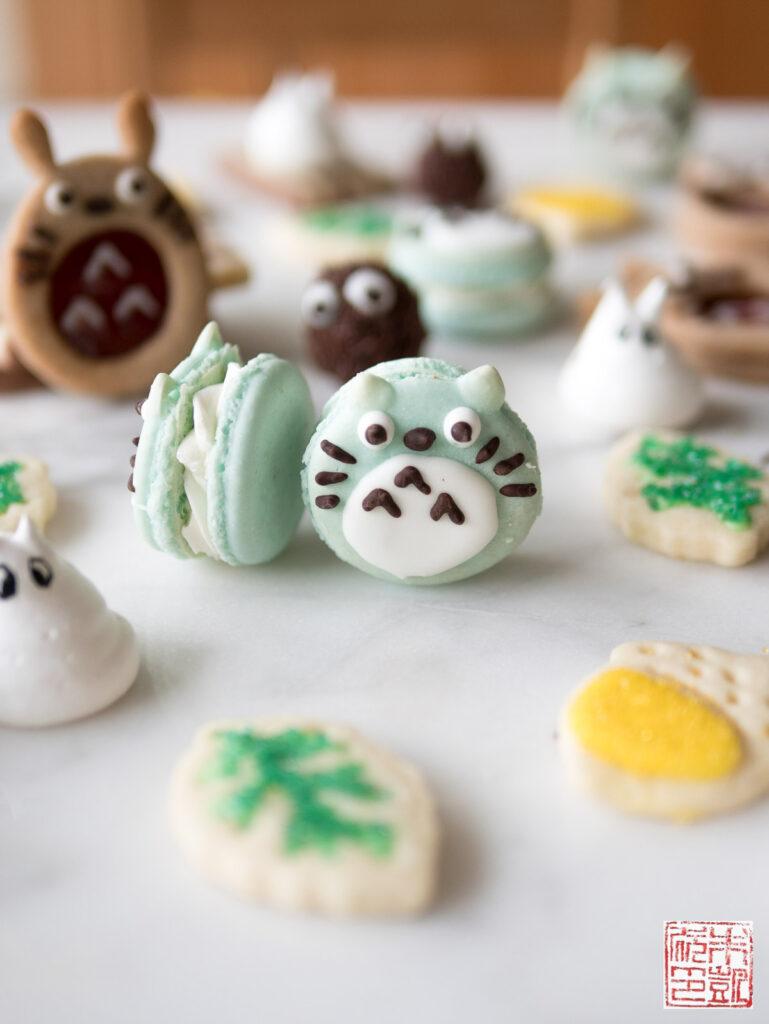 Totoro Cookie Box Macaron