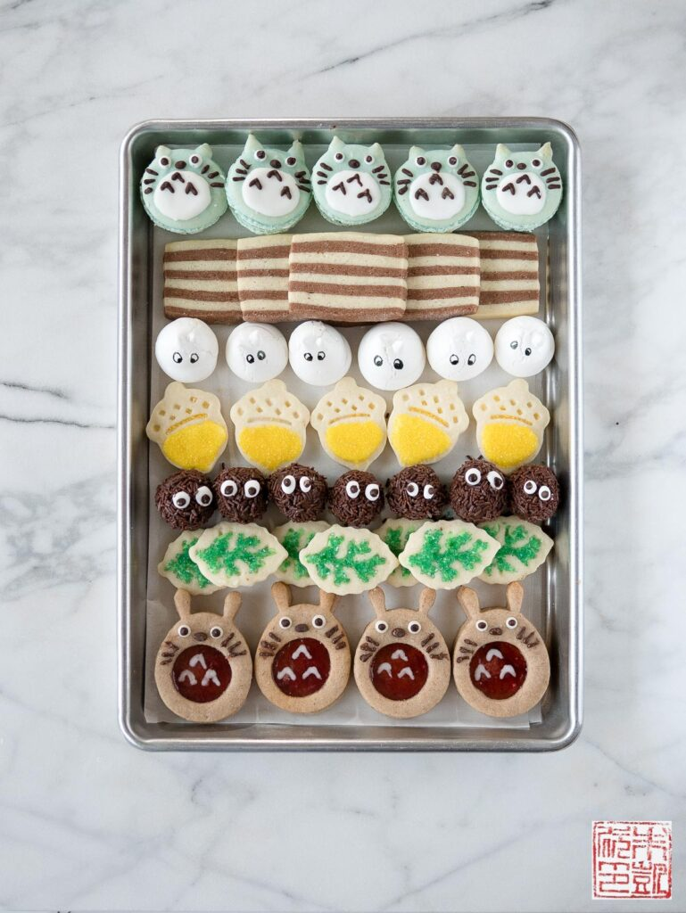Totoro Cookie Box Tray
