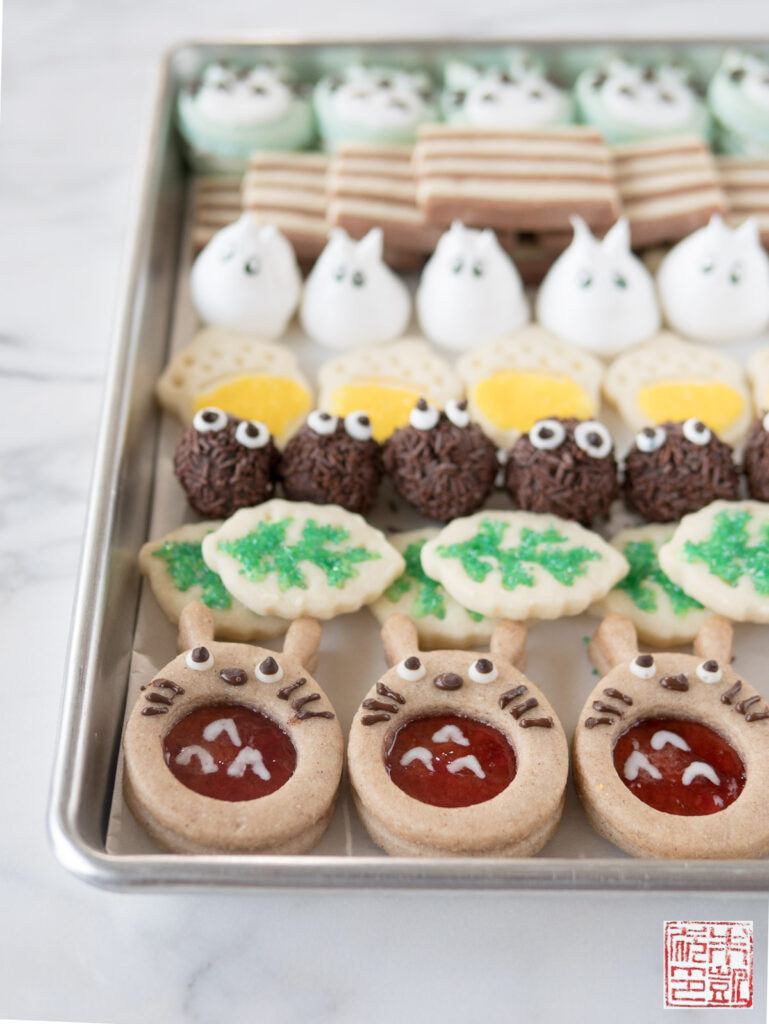 Totoro Cookie Box Tray2