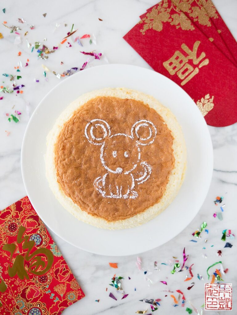 Japanese Cheesecake Flatlay CNY