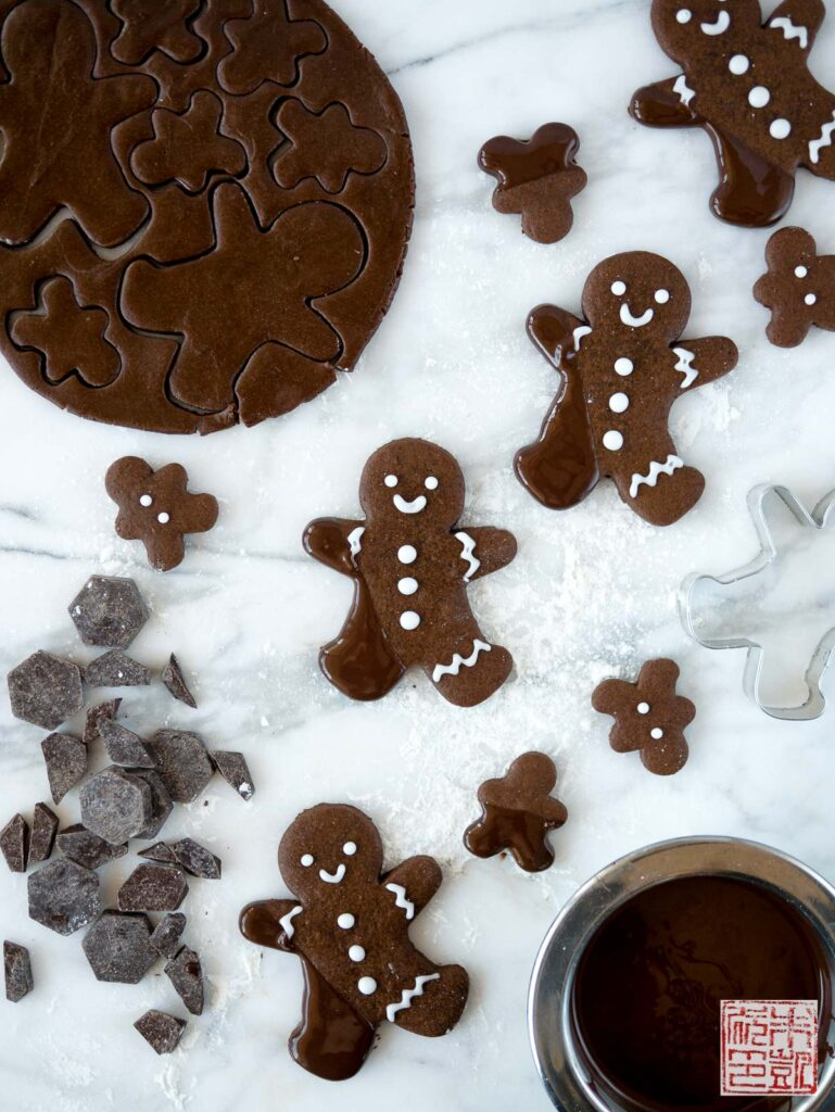 Chocolate Gingerbread Flatlay