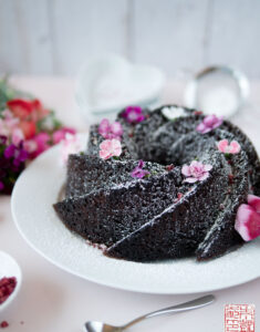 Deep Dark Chocolate Bundt Cake