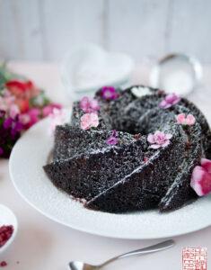 Deep Dark Chocolate Bundt Cake