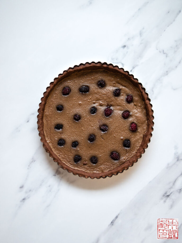 Olalliberry Tart Frangipane