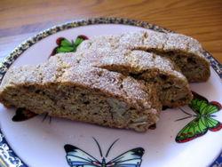 Cinnamon pecan biscotti 1