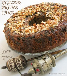 SHF Glazed Prune Cake