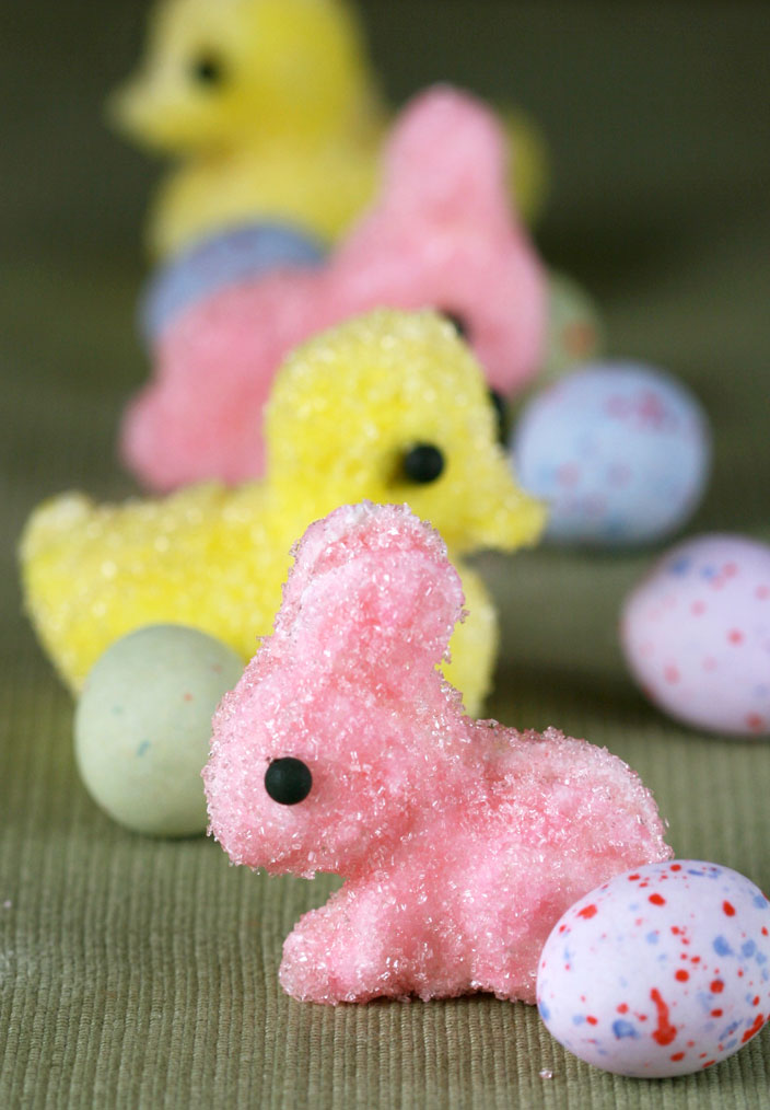 Marshmallow Chicks Just In Time For Easter Dessert First