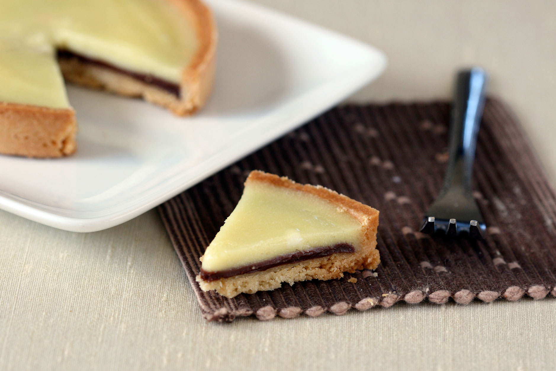 ... an Old Favorite: Meyer Lemon and Chocolate Tart - Dessert First